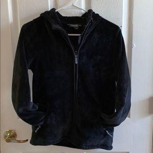 Lands' End SuperSoft fleece jacket Girls Size 16